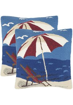 Safavieh PPL110A-2020-SET2 Home,Beach Lounge Pillow, Garden & Patio Safavieh Outdoor Décor Home
