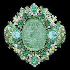 Dior Jewellery – Dear Dior: 'Organza Brodé Paraiba' bracelet. Discover more on www.dior.com