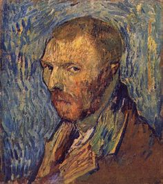 Self-portrait, 1889 by Vincent van Gogh. self-portrait. Paul Gauguin, Van Gogh Portraits, Van Gogh Self Portrait, Art Van, Claude Monet, Vincent Van Gogh Biography, Van Gogh Arte, Theo Van Gogh, Van Gogh Pinturas
