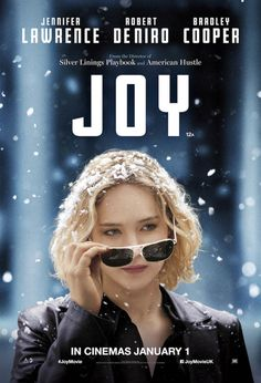 New UK poster for Joy featuring Jennifer Lawrence