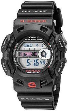 Casio Men s G9100-1 G-Shock Gulfman Tide and Moon Watch G Shock Gulfman 7e8c342a4d