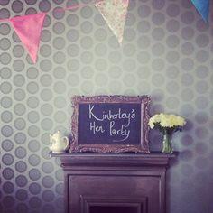 Kimberley's Hen Party Tea, Brighton #henparty #vintagehenparty #Brighton #vintageteaparty