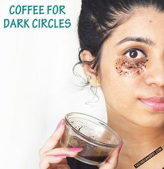 COFFEE EYE MASK TO GET RID OF DARK CIRCLES