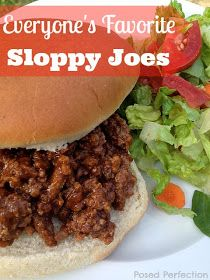 Posed Perfection: Everyone's Favorite Sloppy Joes