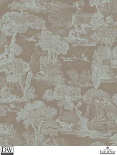 VERSAILLES TEAL [Cole-99-15063] Cole and Son Since 1875 | DesignerWallcoverings.com | Luxury Wallpaper | @DW_LosAngeles | #Custom #Wallpaper #Wallcovering #Interiors