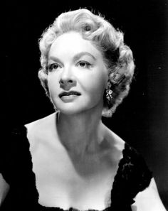 Jo Van Fleet ~ (12/29/1915 - 06/10/1996) age 80. Co-Starred as Katie Roth in 'I'll Cry Tomorrow', 1955.