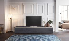 GALLERY M Lowboard »Merano« Modell 3649, Breite 240 cm | yourhome.de Decor, Furniture, Home, Gallery, Merano, Flat Screen, Gallery M, Bed, Yourhome