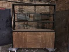 Industrial Interiors, Liquor Cabinet, Storage, China Cabinets, Inspiration, Furniture, Divider, Home Decor, Decorating