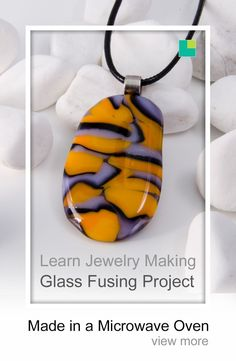 Tiger pattern inspired fused glass pendant made in a microwave oven using a microwave kiln. Glass used was COE 96 art glass from Bullseye Glass. Fused Glass Jewelry, Fused Glass Art, Glass Pendants, Glass Beads, Stained Glass, Smash Glass, Glass Fusing Projects, Bullseye Glass, Jewelry Art