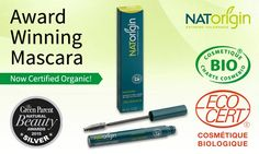 NATORIGIN HYPOALLERGENIC MAKE-UP 2 *NEW* MASCARA COLOURS LAUNCHED