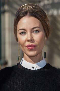 Ulyana Sergeenko Photo - Valentino: Arrivals - Paris Fashion Week Womenswear Spring / Summer 2013 #Ulyana #Sergeenko