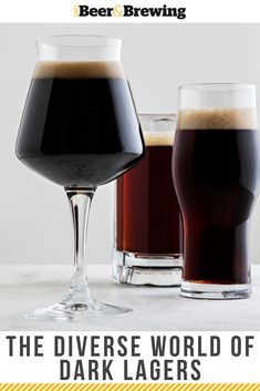 The Diverse World of Dark Lagers Not all dark beers—and most especially not all dark lagers—are the same. Take some time to parse the different dark lager styles out there and consider not only how they differ but also how we can modify our brewing approaches to produce them.