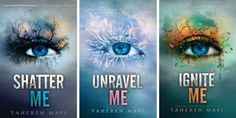 The SHATTER ME series has stunning covers