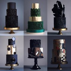 chocolate wedding cake using box mix Black Wedding Cakes, Beautiful Wedding Cakes, Gorgeous Cakes, Pretty Cakes, Amazing Cakes, Magical Wedding, Modern Cakes, Unique Cakes, Elegant Cakes