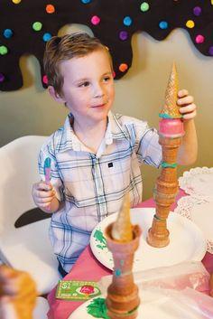 ice cream party activity