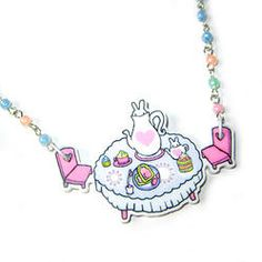 Tea Party Necklace