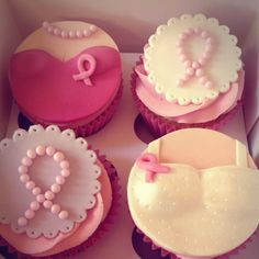 Breast Cancer Awareness Cupcakes #BelkPink #breastcancerawareness