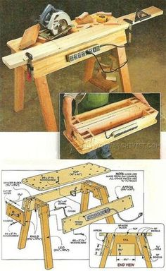 Portable Workbench Plans - Workshop Solutions Plans, Tips and Tricks | WoodArchivist.com