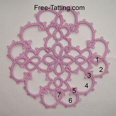 tatted motif free patterns