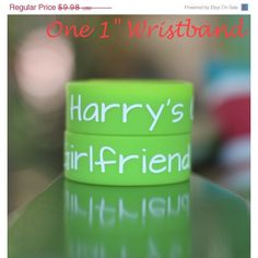 ON SALE TODAY - Harry's Girlfriend One Direction Wristband Bracelet 1... ($8.88) ❤ liked on Polyvore