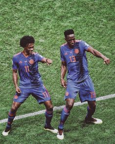 Dancing fever // :Getty #yerrymina #yerry #mina #juan #juancuadrado #cuadrado #colombia #seleccioncolombia #soccer #football #russia2018 #worldcup #worldcup2018 #fifa #fifaworldcup Manchester United Chelsea, Manchester City, Sport Football, Football Fans, Arsenal Liverpool, Liga Premier, Messi And Ronaldo, Russia 2018, Fc Porto