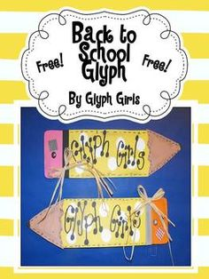 Head Back to School with this FREE glyph from the Glyph Girls! This is an easy and super fun activity for the first few days of school.If you l...