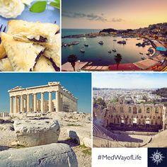 Atena nudi uistinu metropolitanski izbor kulturalnih sadržaja i ljepota. #MSCOpera #Athens Athens offers a truly metropolitan range of cultural diversions and beauties
