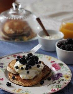Gluten-free buckwheat pikelets  Yum recipe for buckwheat pancakes is on http://mangofique.com/2015/02/pohankove-lievance/