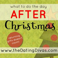What to do the day AFTER Christmas- with cute, free printables!