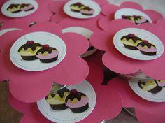 #festa #party #papelaria #tag #cupcake #minichiclete #pink #guloseimas