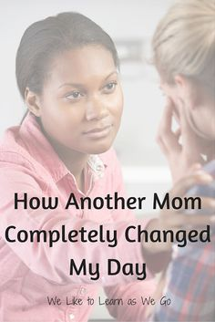 I had one of those moments in the store with my kids screaming and running around and throwing folded clothes on the floor and I was sure I was causing a big distraction... When a woman turned to me and told me something that completely changed my day. #beanencourager   www.weliketolearnaswego.com