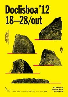 supercalli:  Doclisboa'12 - 10ª Festival Internacional de Cinema 18-28 de Outubro em Lisboa Cartaz dePedro Nora