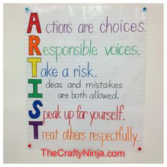 Google Image Result for http://thecraftyninja.com/wp-content/uploads/2012/04/artist-classroom-poster-rules.jpg