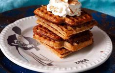 Churros, Waffles, French Toast, Grilling, Pie, Vegetarian, Candy, Baking, Breakfast