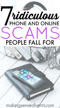 Phone scams and onli