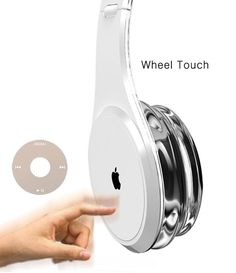 Apple iHead Headphone Concept are a little different than your run of the mill headphones, not only do they look fantastic, they function as both headphones and portable speakers.