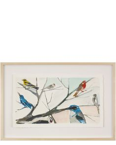 Karen Smidth Birds I Limited Edition of archival hand-deckled print, signed and numbered by the artist. Gouache Painting, Painting & Drawing, Living Room Art, Beach Art, Local Artists, Art Oil, Art For Sale, Art Pieces, Art Gallery
