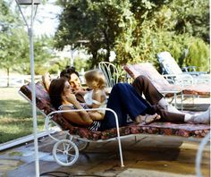 The Presley Family Elvis and Priscilla Presley play with their daughter, Lisa Marie, at home.  via RollingStone.com  Read more: http://www.rollingstone.com/music/pictures/elvis-presley-through-the-years-20120816/the-presley-family-0585821#ixzz2cAzOoLZl