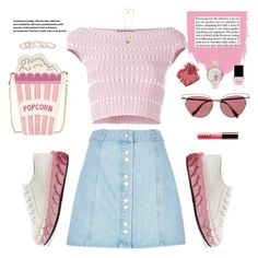 """""""Bsic"""" by aangeles-mendoza ❤ liked on Polyvore featuring Alexander McQueen, River Island, Marco de Vincenzo, Oliver Peoples, LORAC, Bobbi Brown Cosmetics, Olivia Burton, Givenchy, Kendra Scott and Context"""