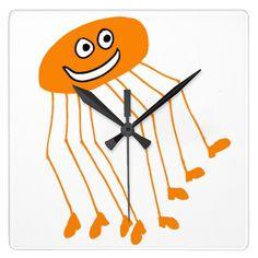 Daddy long legs clock