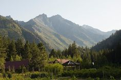 Sleeping Lady Mountain Resort, Leavenworth, WA  A leader in its commitment to social sustainability and environmental performance standards. Long known as an area for ecologically-minded folk, Sleeping Lady sits on the land that was once home to the Civilian Conservation Corps. After the purchase of the land in 1991, conservationist Harriet Bullitt ensured that the original buildings were brought up to current energy codes, and that the new buildings achieved environmental sustainability.