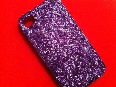 DIY Glitter Cell-Phone Case........I am going to do this!!!!
