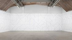 A Study of Lines and Arcs by Sol Lewitt