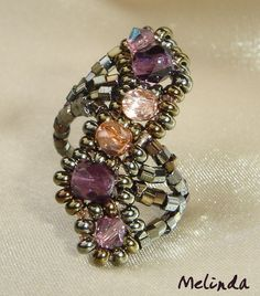 beaded ring 2013 by Melinda