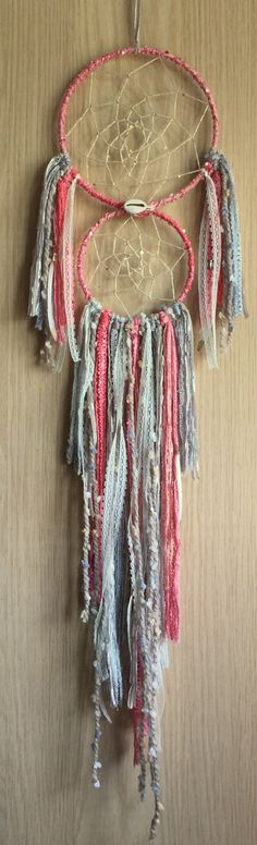 bohemian spirit double dreamcatcher by karen michel