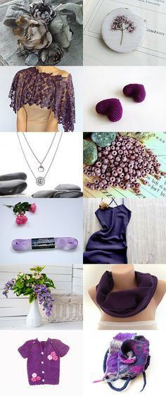 Purple by Tulay Ozder on Etsy--Pinned with TreasuryPin.com
