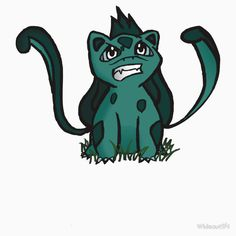"""Chibi Bulbasaur #001"" T-Shirts & Hoodies by Wideout94 | Redbubble"