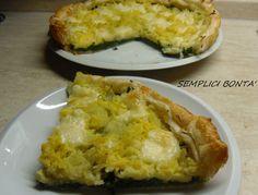 TORTA SALATA CON SPINACI E PATATE - ricetta facile