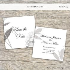 Save the Date Wedding Card Elegant Black and White (50x) £46.70  https://www.etsy.com/uk/listing/263032193/save-the-date-wedding-card-elegant-black?ref=shop_home_active_4