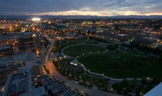 Riverfront Park, Denver, CO.